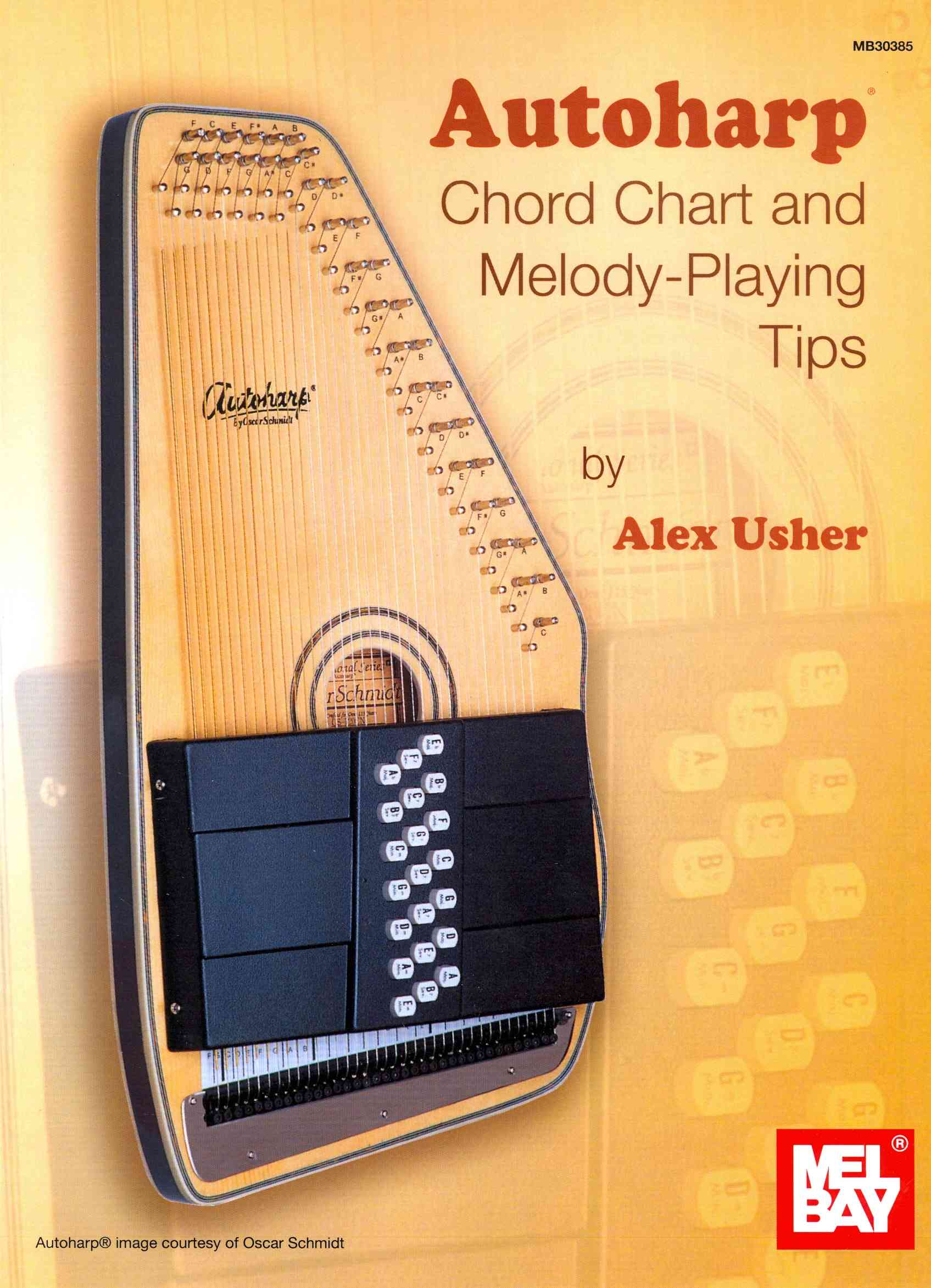Autoharp Chord Chart and Melody-Playing Tips By Usher, Alex